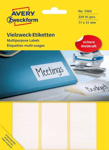 Universaalsed kleebised » Zweckform.ee